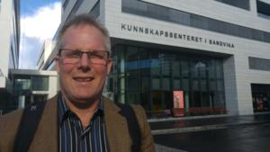 Lars Ole Bolneset, ansatt i Bærum Kommune