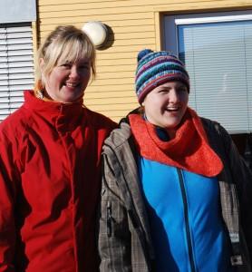 Nina Bærheim og Nora Barth Gulbrandsen